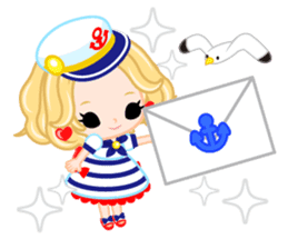 Marine Girl sticker #483406