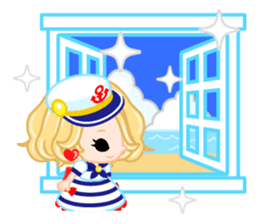 Marine Girl sticker #483408