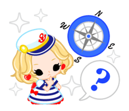 Marine Girl sticker #483410