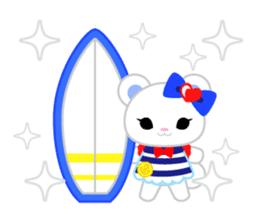 Marine Girl sticker #483415