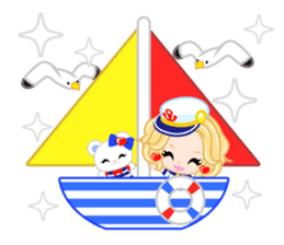 Marine Girl sticker #483419