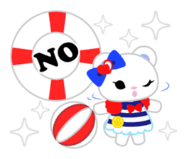 Marine Girl sticker #483421