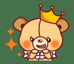 Bear Prince cute sticker sticker #484158