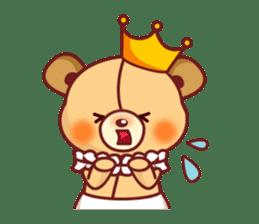 Bear Prince cute sticker sticker #484159