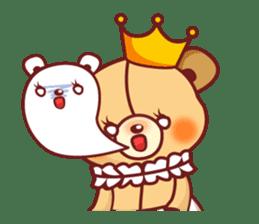 Bear Prince cute sticker sticker #484164