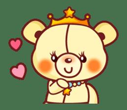 Bear Prince cute sticker sticker #484175