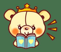 Bear Prince cute sticker sticker #484176