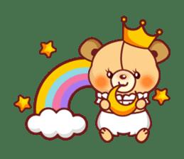 Bear Prince cute sticker sticker #484180