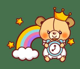 Bear Prince cute sticker sticker #484181