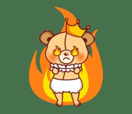 Bear Prince cute sticker sticker #484185