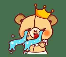 Bear Prince cute sticker sticker #484186