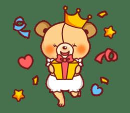 Bear Prince cute sticker sticker #484189