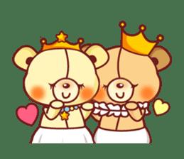 Bear Prince cute sticker sticker #484192