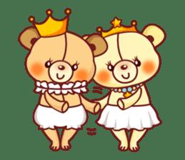 Bear Prince cute sticker sticker #484193