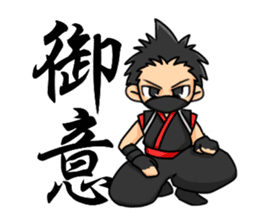 AST Ninja 04 sticker #484603
