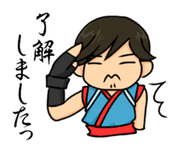 AST Ninja 04 sticker #484612