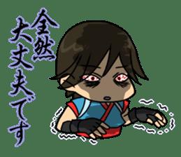 AST Ninja 04 sticker #484616
