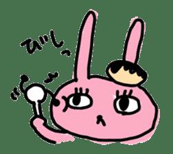 doughnut rabbit 2 sticker #485476