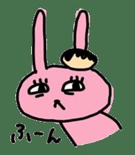 doughnut rabbit 2 sticker #485478