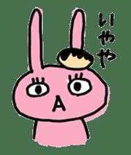 doughnut rabbit 2 sticker #485485