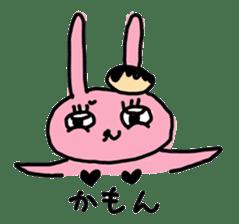 doughnut rabbit 2 sticker #485498