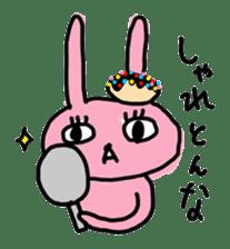 doughnut rabbit 2 sticker #485500
