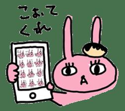 doughnut rabbit 2 sticker #485504