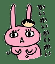 doughnut rabbit 2 sticker #485508