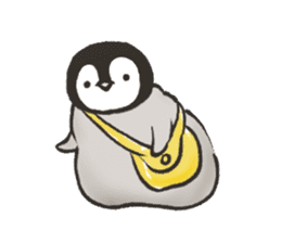 penguin and cat days sticker #486039