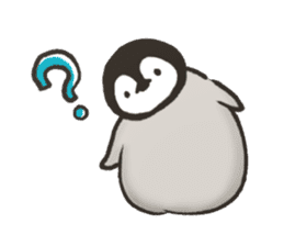 penguin and cat days sticker #486069