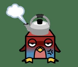 Boxy Penguin(English version) sticker #487596