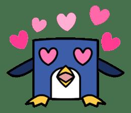 Boxy Penguin(English version) sticker #487599