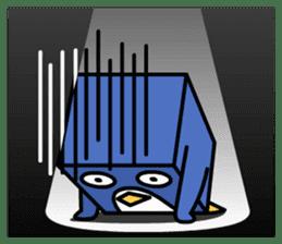 Boxy Penguin(English version) sticker #487600