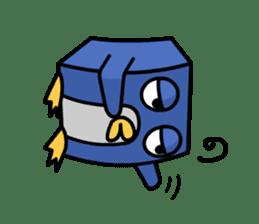 Boxy Penguin(English version) sticker #487602