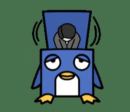 Boxy Penguin(English version) sticker #487605