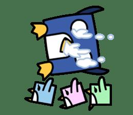 Boxy Penguin(English version) sticker #487611