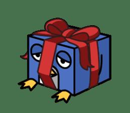 Boxy Penguin(English version) sticker #487613