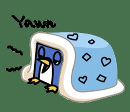 Boxy Penguin(English version) sticker #487614
