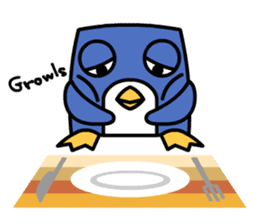Boxy Penguin(English version) sticker #487616