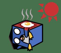 Boxy Penguin(English version) sticker #487618