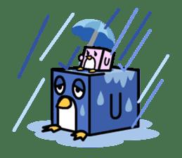 Boxy Penguin(English version) sticker #487622