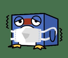 Boxy Penguin(English version) sticker #487624
