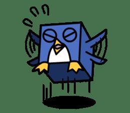 Boxy Penguin(English version) sticker #487625
