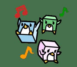 Boxy Penguin(English version) sticker #487627
