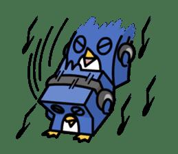 Boxy Penguin(English version) sticker #487628