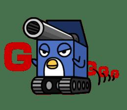 Boxy Penguin(English version) sticker #487629