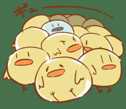 chicks sticker #488111