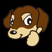 สติ๊กเกอร์ไลน์ Dog Stamp vol.3 Dachshund