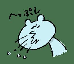 Indulgence bear sticker #488356