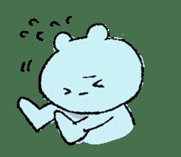 Indulgence bear sticker #488391